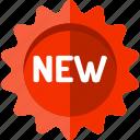 badge, blackfriday, label, new icon