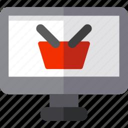 blackfriday, computer, online, shop, store icon