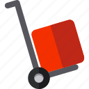 blackfriday, discount, sale, trolley icon