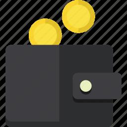blackfriday, coins, discount, money, pay, sale, wallet icon