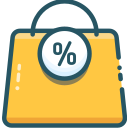 basket, items, sale icon