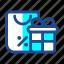 black friday, bonus, cash back, commerce, discount, gift, shopping icon