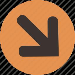 arrow, corner icon