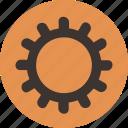 gear, settings, streamline icon
