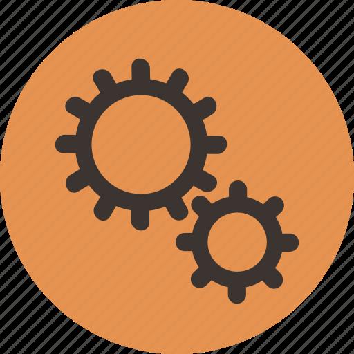 gears, settings, streamline icon