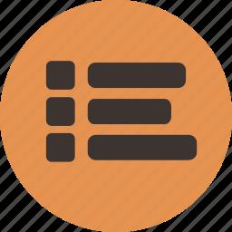 checklist, feed, list, menu, news, tasks icon