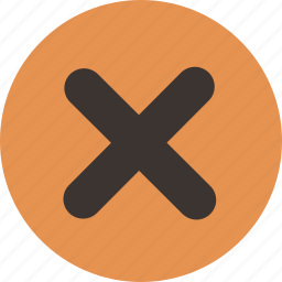 cross, delete, no, remove icon