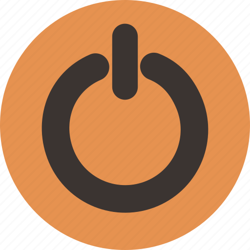 logout, off, power, sign, switch, turn icon
