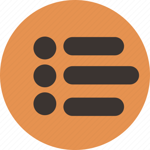 checklist, feed, list, news, playlist, tasks icon