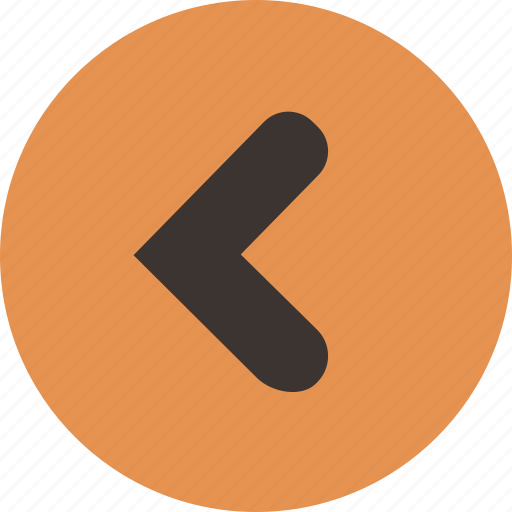 arrow, back, direction, left, less than, previous icon