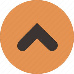 arrow, direction, up icon