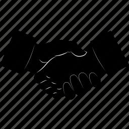 business, contractors, deal, friend, friends, friendship, hands, handshake icon