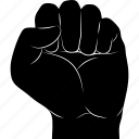 answer, beat, fist, gestureworks, impact, kick, strike icon