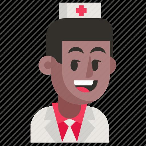 Avatar, job, man, nurse, profession, user, work icon - Download on Iconfinder