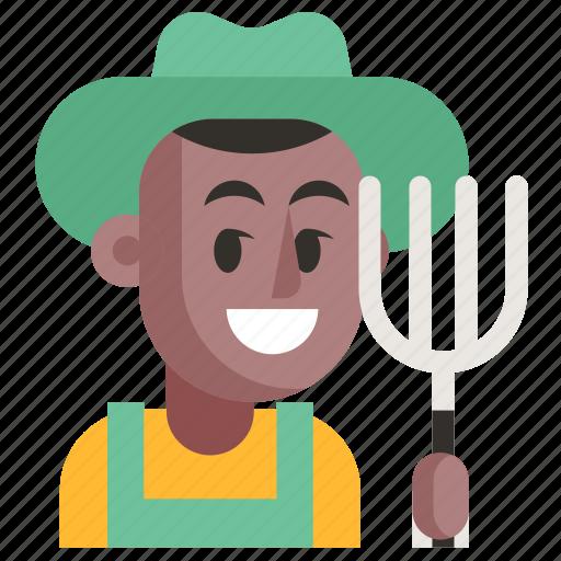 Avatar, farmer, job, man, profession, user, work icon - Download on Iconfinder
