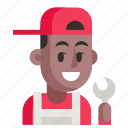 avatar, job, man, mechanic, profession, user, work icon