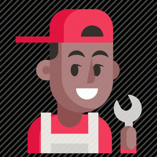 Avatar, job, man, mechanic, profession, user, work icon - Download on Iconfinder