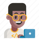 avatar, job, man, profession, programmer, user, work