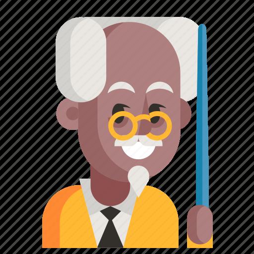 Avatar, job, man, profession, professor, user, work icon - Download on Iconfinder