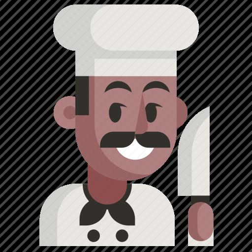 Avatar, chef, job, man, profession, user, work icon - Download on Iconfinder