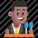 avatar, job, man, politician, profession, user, work