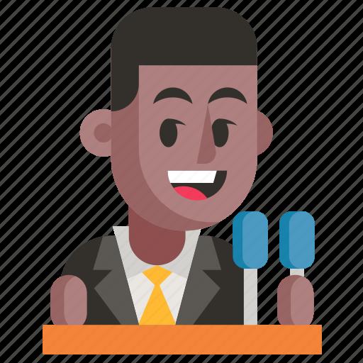 Avatar, job, man, politician, profession, user, work icon - Download on Iconfinder
