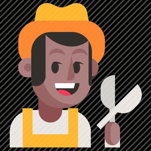 Avatar, gardener, job, man, profession, user, work icon - Download on Iconfinder