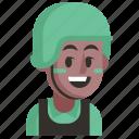avatar, job, man, profession, soldier, user, work