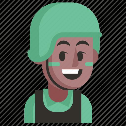 Avatar, job, man, profession, soldier, user, work icon - Download on Iconfinder