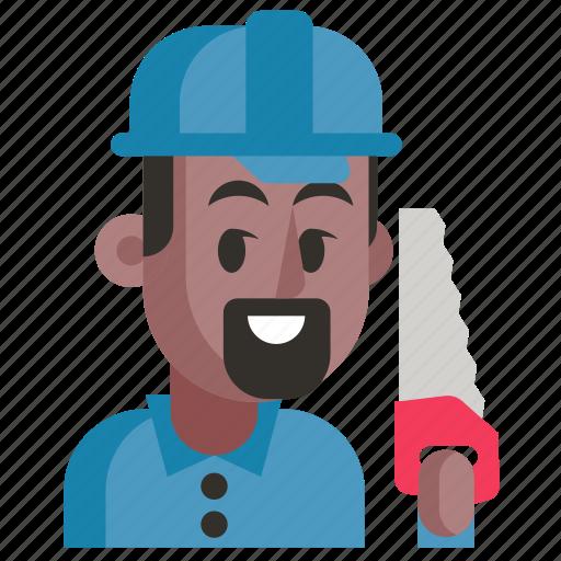 Avatar, carpenter, job, man, profession, user, work icon - Download on Iconfinder