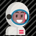 astronaut, avatar, job, man, profession, user, work