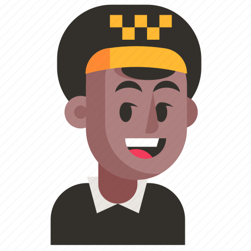 Avatar, job, man, profession, taxi driver, user, work icon - Download on Iconfinder