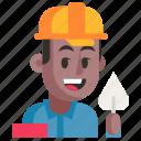 avatar, builder, job, man, profession, user, work