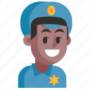 avatar, job, man, policeman, profession, user, work
