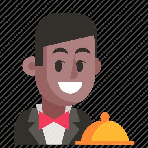 Avatar, job, man, profession, user, waiter, work icon - Download on Iconfinder
