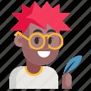 avatar, job, man, profession, user, work, writer