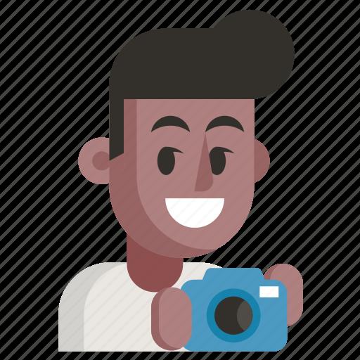 Avatar, job, man, photographer, profession, user, work icon - Download on Iconfinder