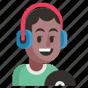 avatar, dj, job, man, profession, user, work
