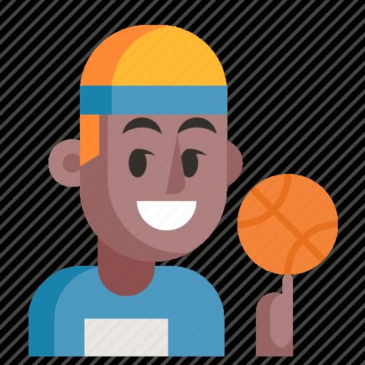 Athlete, avatar, job, man, profession, user, work icon - Download on Iconfinder