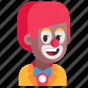 avatar, clown, job, man, profession, user, work