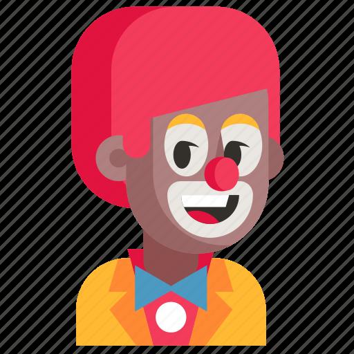 Avatar, clown, job, man, profession, user, work icon - Download on Iconfinder