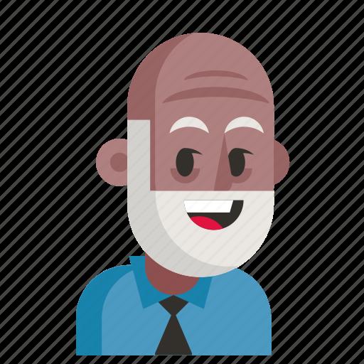 Avatar, job, man, pensioner, profession, user, work icon - Download on Iconfinder