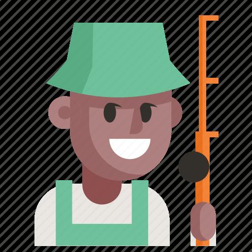 Avatar, fisherman, job, man, profession, user, work icon - Download on Iconfinder