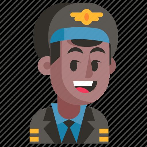 Avatar, job, man, pilot, profession, user, work icon - Download on Iconfinder