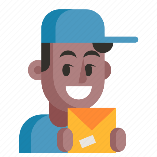 Avatar, courier, job, man, profession, professional, work icon - Download on Iconfinder