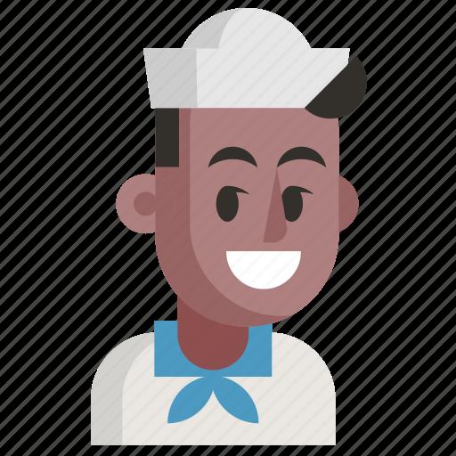 Avatar, job, man, profession, sailor, user, work icon - Download on Iconfinder