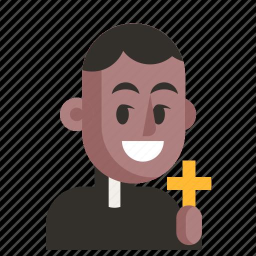 Avatar, job, man, priest, profession, user, work icon - Download on Iconfinder