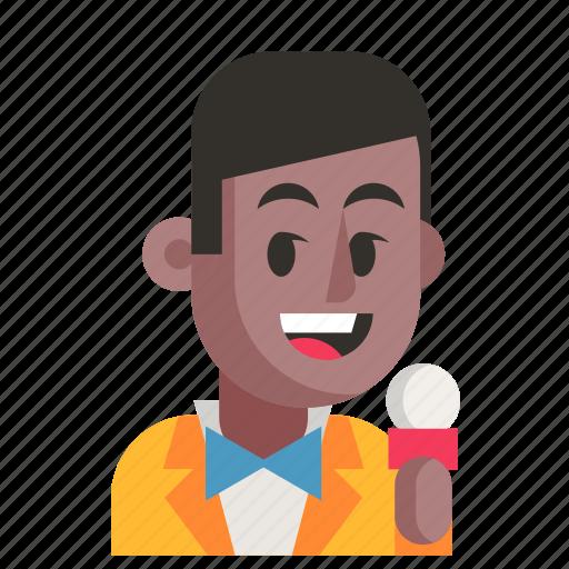 Avatar, job, man, profession, showman, user, work icon - Download on Iconfinder