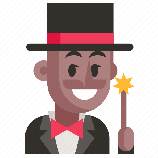 Avatar, job, magician, man, profession, user, work icon - Download on Iconfinder