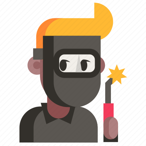 Avatar, job, man, profession, user, welder, work icon - Download on Iconfinder